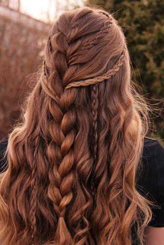 بافت مو دخترانه مدل باز