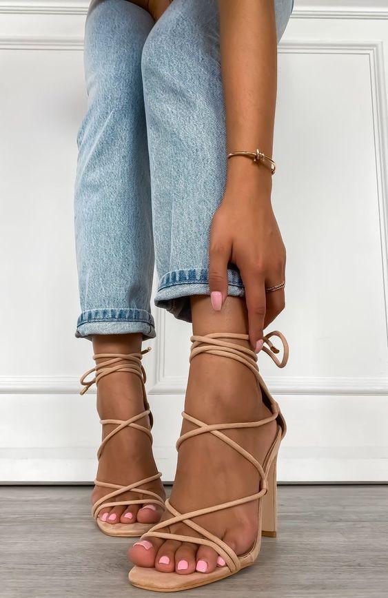 کفش مجلسی دخترانه بندی